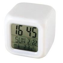 Relogio Digital Despertador Muda De Cor Temperatura Data