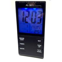 Relogio De Mesa Ou Parede Digital Data Hora Temperatura Desp