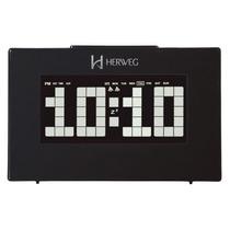 Relógio Digital Mesa Herweg 2963 Termometro
