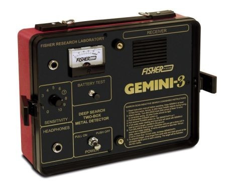 Detector De Metais Fisher Gemini-3