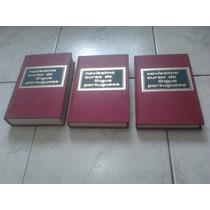 Livros -novissimo Dicionario Da Lingua Portuguesa 3 Volumes.