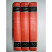 Dicionário Da Língua Portuguesa De A A Z - Volumes 1, 2 E 3