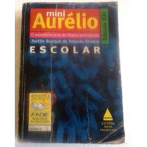 Mini Dicionário Aurélio Escolar