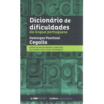 Dicionário De Dificuldades Da Língua Portuguesa (cegalla)