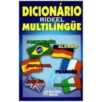 Dicionário Rideel Multilíngue