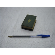 Antigo Mini Dicionario Frances --1959