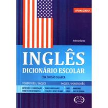 Livro - Dicionario Escolar Ingles Lacrado Compre Ja