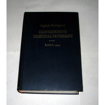 Comprehensive Technical Dictionary English Portuguese - 1953