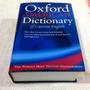 Dicionário Oxford American Of Current English - Capa Dura