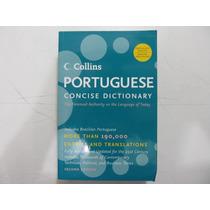 Livro Em Inglês - Collins Portuguese Concise Dictionary
