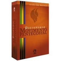 Livro Dicionário Movimento Pentecostal
