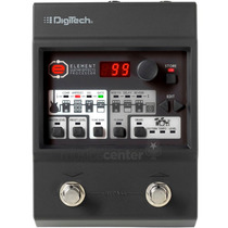 Pedaleira Para Guitarra Digitech Element C/ Fonte Original