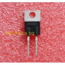 Diodo D45e60 | 45 Amperes/600v Original