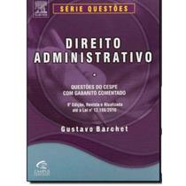 Direito Administrativo Questões Comentadas Cespe 9edição