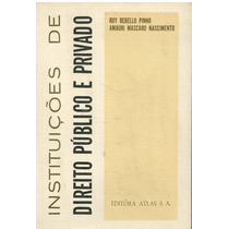 Instituições De Direito Público E Privado Ruy Rebello E