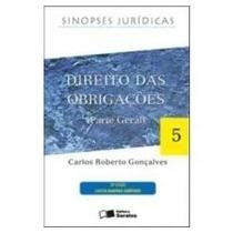 Direito Das Obrigações - Carlos Roberto Gonçalves - Sinopses