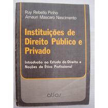 Instituição De Direito Público E Privado - Ruy E Amauri