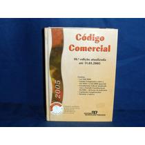 Livro Código Comercial Usado 10ª Edição De 2005