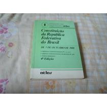 Livro Constituição Da Republica Federativa Do Brasil Atlas