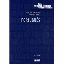 Livro Português -série Leituras Jurídicas Provas E Concursos
