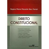 Livro - Direito Constitucional Regina Maria Macedo Ferrari