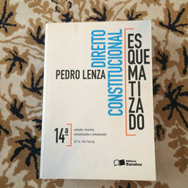 Livro Direito Constitucional Esquem. Pedro Lenza 14 Edição