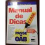 Oab 2014 Manual De Dicas Saraiva
