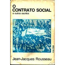 Livro O Contrato Social E Outros Escritos - 5ª Ed. F/gratis