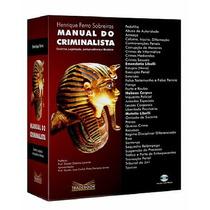 Livro Manual Do Criminalista + Cd-rom