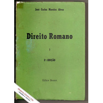 Direito Romano Vol.1 - José Carlos Moreira Alves
