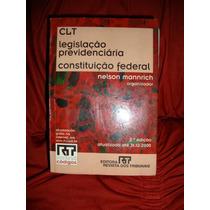 Livro Clt, Legislação Previdenciária, Constituição Federal.