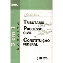 Códigos Tributário-processo Civil E Constituição Federal