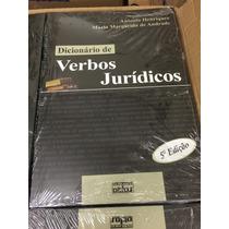 Dicionário De Verbos Jurídicos - Novo, Direto Do Autor