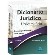 Dicionário Jurídico Universitário 6° Edição - Frete Grátis