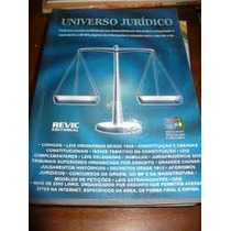 Livro- + Cd Rom- Universo Juridico- Revic-edit- Frete Gratis