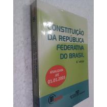 Livro Constituição Da Republica Federativa Do Brasil - 2003