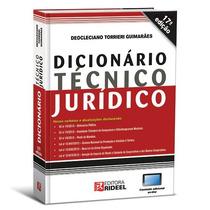 Dicionário Técnico Jurídico 17º Ed. 2014 + Brindes