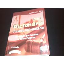 Mini Dicionário Juridico Universitário