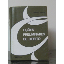 Lições Preliminares De Direito Miguel Reale