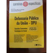 Defensoria Publica Da Uniao - Dpu - Editora Saraiva