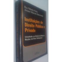 Livro Instituições De Direito Público E Privado -ruy Rebello
