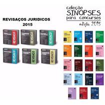 Coleção Revisaço Juridicos 2015 + Coleção Sinopses - 2015