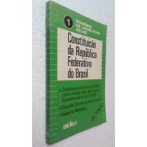 Livro Constituição Da Republica Federativa Do Brasil