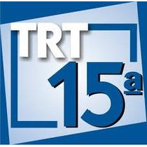 Trt 15 2015 Tecnologia Da Informação 220 Videoaulas