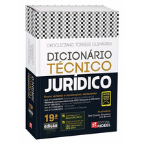 Dicionário Técnico Jurídico Rideel - Totalmente Atualizado!!