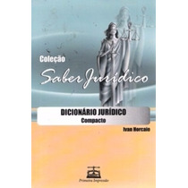 Livro Saber Jurídico Dicionário Jurídico Compacto