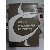Lições Preliminares De Direito - Miguel Reale