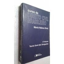 Livro Curso De Dir Civil Brasileiro - 2º Vol - Maria H Diniz