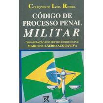Código De Processo Penal Militar - Pague Com Cartão