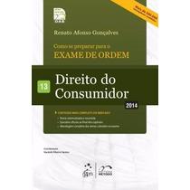 Pdf Coleção 1ª Fase Oab Direito Do Consumidor Vol13_2014